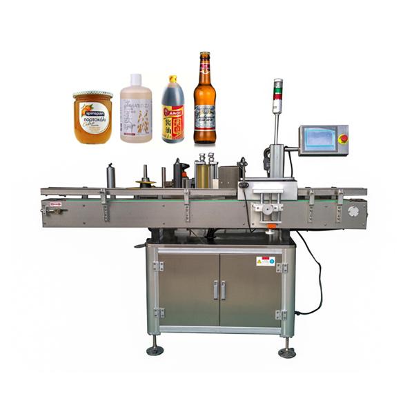 Oko automatske mašine za etiketiranje naljepnica ravna i okrugla boca