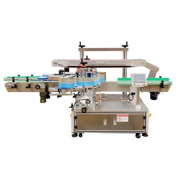 Automatska naljepnica Dvostrana mašina za etiketiranje plastičnih boca Garancija 12 mjeseci