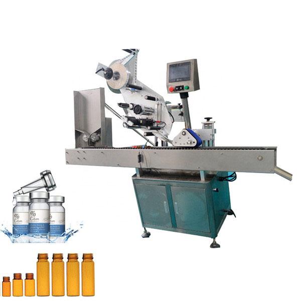 Automatska mašina za etiketiranje bočica sa žvakaćom gumom za malu bocu od 10 ml