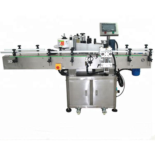 Automatska dvostrana mašina za etiketiranje naljepnica, kvadratna boca, okrugla boca