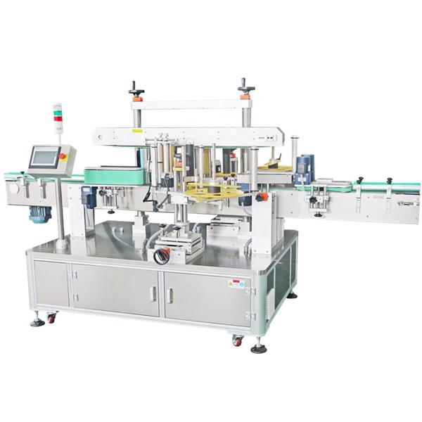 Mašina za etiketiranje dvostranih naljepnica, automatska mašina za nanošenje naljepnica