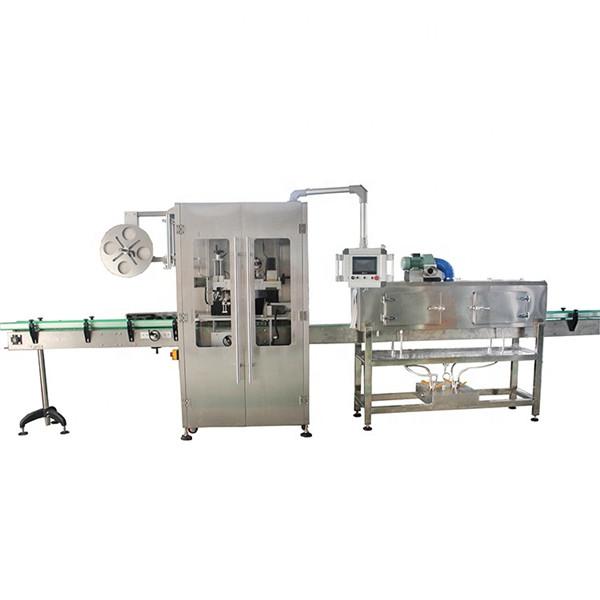 Dvostrana mašina za etiketiranje skupljajućih čaura od nehrđajućeg čelika za razne boce