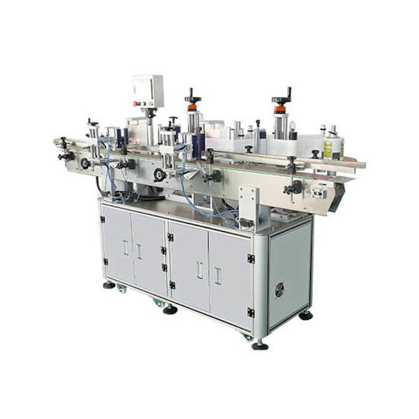 Odlična automatska mašina za etiketiranje dvostrane naljepnice boce deterdženta