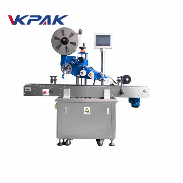 GMP električna ravna automatska mašina za etiketiranje naljepnica za avionsku bocu