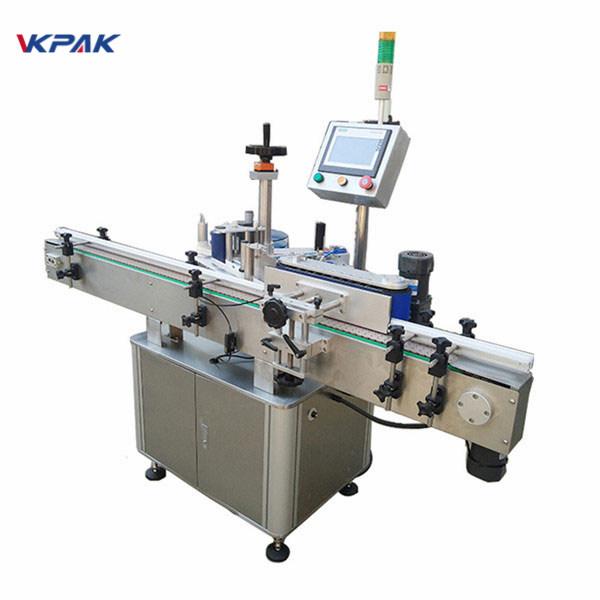 Mašina za etiketiranje okruglih boca velike brzine za automatsku proizvodnju mlijeka i sokova