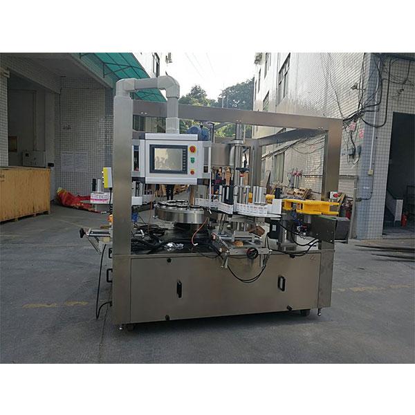 Brza rotacijska mašina za etiketiranje naljepnica s remenom opcija stroja za punjenje