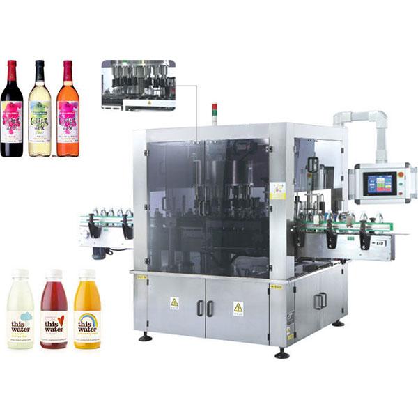 Brza rotacijska mašina za etiketiranje naljepnica s funkcijom rotacije