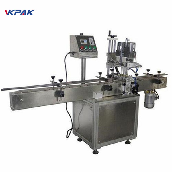 Industrijska dvostrana mašina za etiketiranje okruglih bočica za kozmetičke proizvode