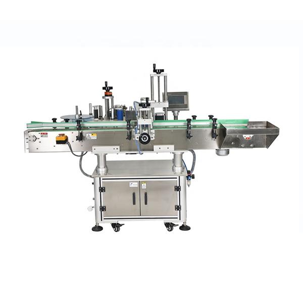 Inteligentna PLC kontrola Automatska mašina za etiketiranje dvostranih naljepnica