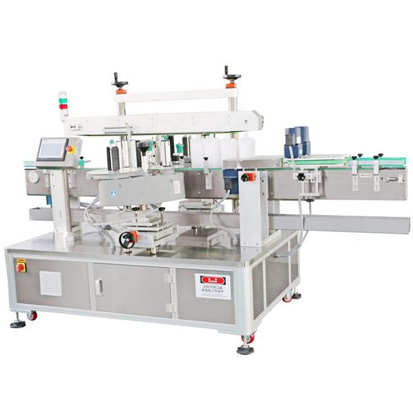 Stroj za nanošenje naljepnica boca ulja deterdžent Mašina za etiketiranje prednjeg i stražnjeg deterdženta