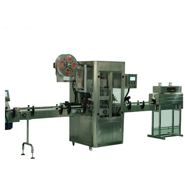 Minimalna mašina za etiketiranje manžetnih limenki za PET boce