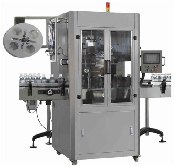 Stroj za etiketiranje ručnih čaura za mineralnu vodu PET za okruglu bocu