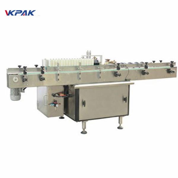 Stroj za etiketiranje bočnih naljepnica na bočicama s plastičnom kozmetikom