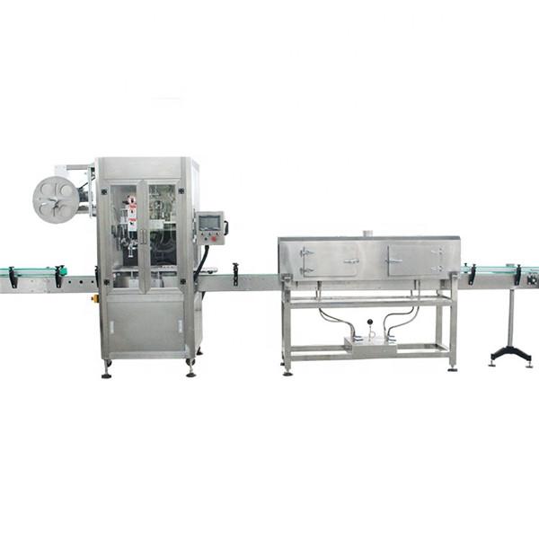 Stroj za etiketiranje rukavca za plastične čaše velike brzine sa generatorom pare