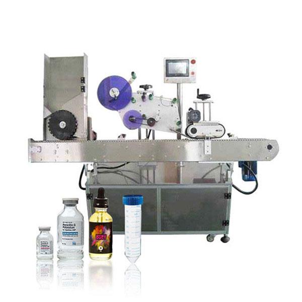 Automatska horizontalna mašina za etiketiranje Siemens Plc bočica sa servo kontrolerom