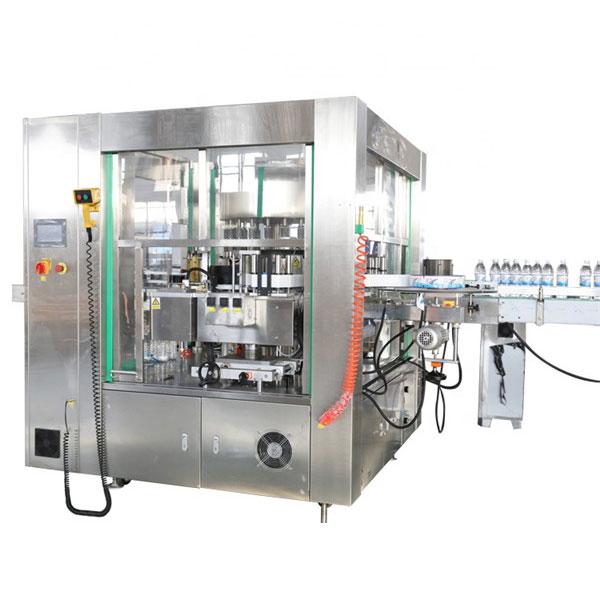 Mašina za automatsko naljepljivanje naljepnica s tri lica, rotacijski sistem mašina