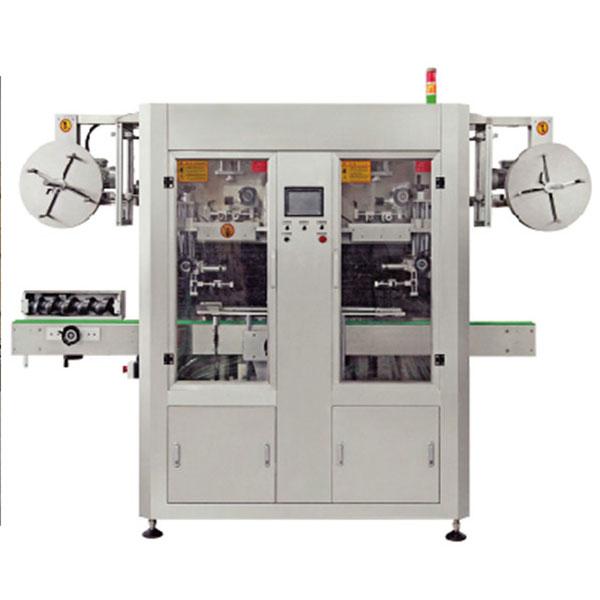 Stroj za etiketiranje rukava za skupljanje vodom