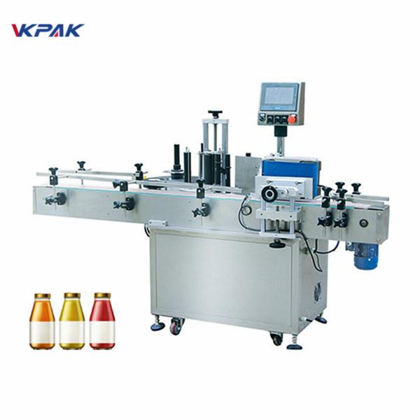 Boca za vino Jednostrana automatska mašina za etiketiranje okruglih boca