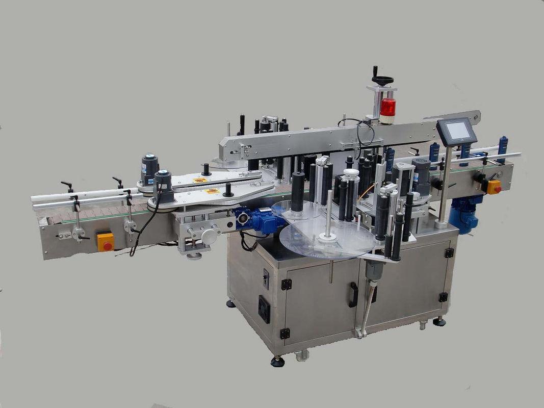 Automatska mašina za etiketiranje dvostranih naljepnica s uređajem za pozivanje i strojem za kodiranje
