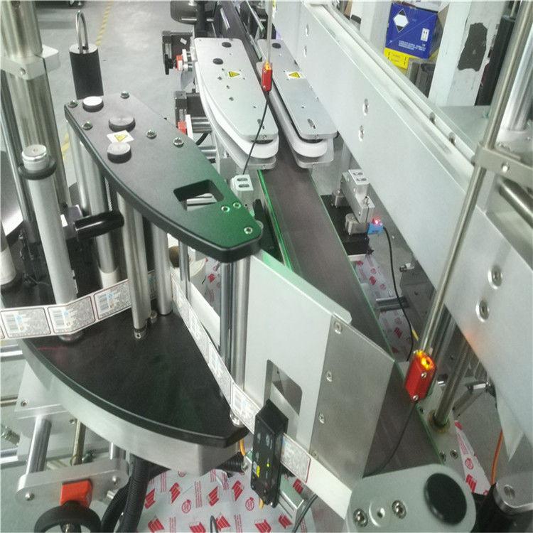 Automatska mašina za etiketiranje dvostranih naljepnica za kvadratne okrugle ravne boce