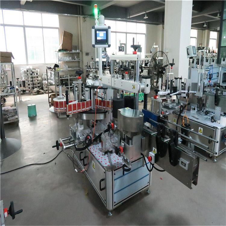 Dvostrana mašina za etiketiranje brzih ravnih boca za kozmetiku / piće