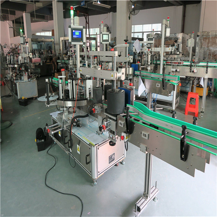 Mašina za etiketiranje okruglih boca za kućne ljubimce, mašina za automatsko nanošenje naljepnica