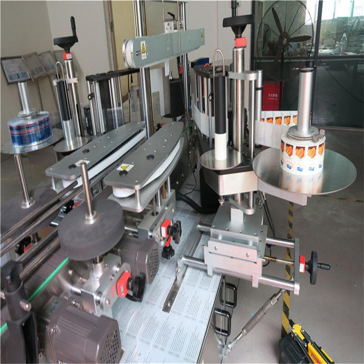 Stroj za naljepnicu naljepnica s jednostrukom / dvostranom okruglom bocom