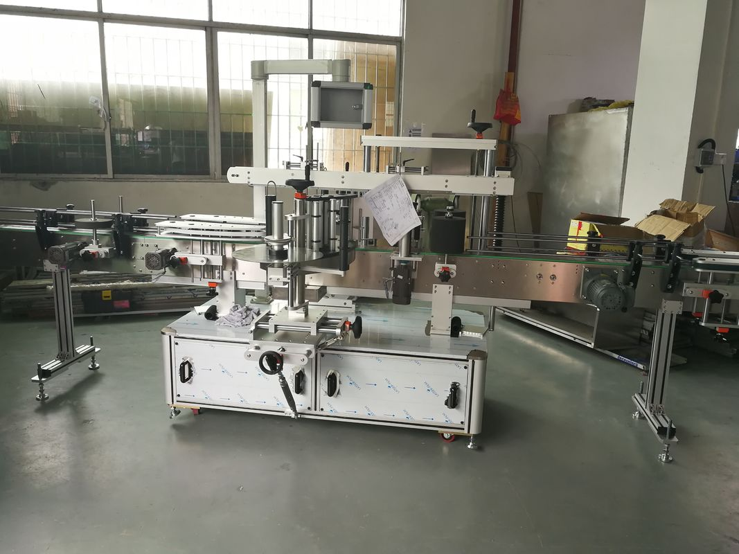 Automatska mašina za etiketiranje naljepnica boca za sok / vino, automatska mašina za etiketiranje