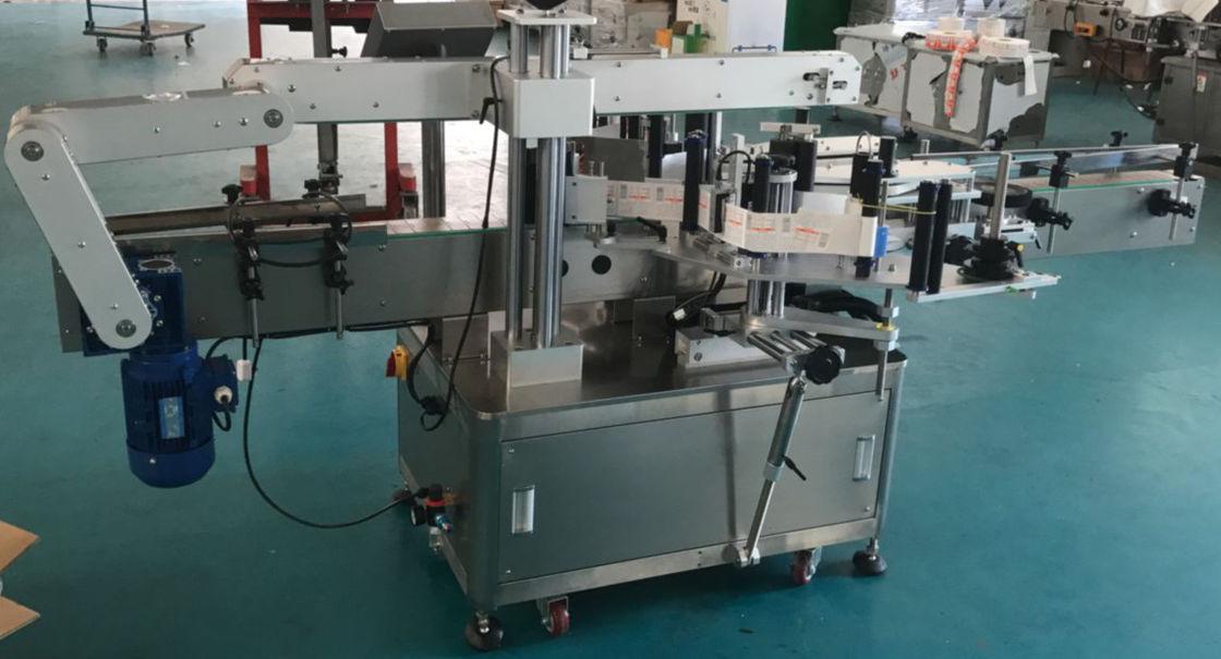 Automatska mašina za etiketiranje staklenih boca sa ravnom bocom, mašina za naljepnice naljepnica