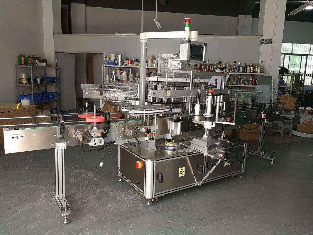 Visoko precizna višenamjenska mašina za etiketiranje ravnih boca na električni pogon