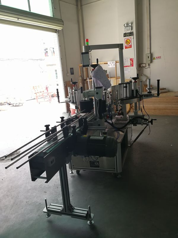 Stroj za etiketiranje naljepnica na prednjoj i stražnjoj strani na ovalnoj / pravokutnoj / kvadratnoj boci