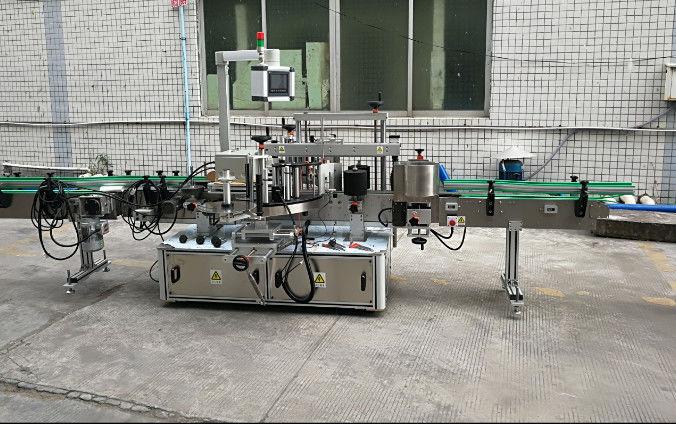 Dvostrana automatska mašina za etiketiranje naljepnica sa servo motorom