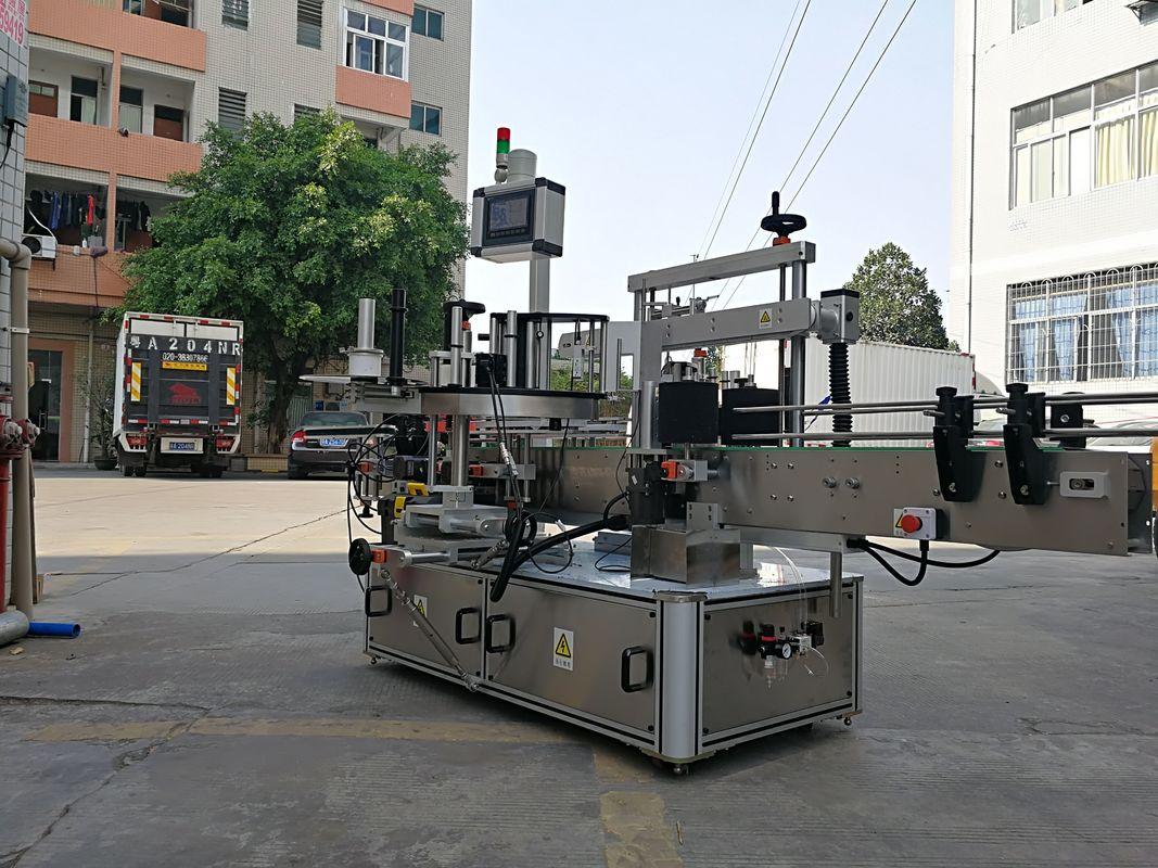 Brza automatska mašina za nanošenje naljepnica s tri bočne kvadratne boce
