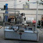 Dvostrana naljepnica, eliptična ovalna boca, mašina za automatsko etiketiranje
