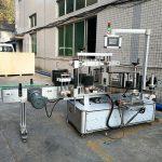 Stroj za naljepnice s prednje i stražnje naljepnice za ovalnu i pravokutnu bocu