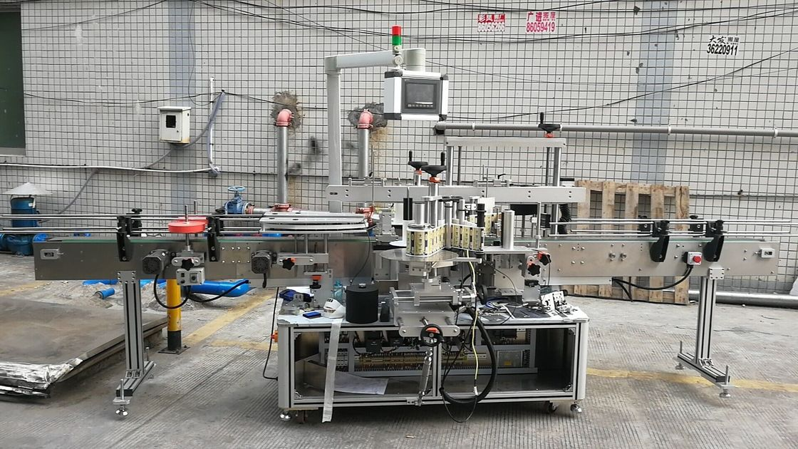 Automatska dvostrana mašina za etiketiranje četvrtastih boca