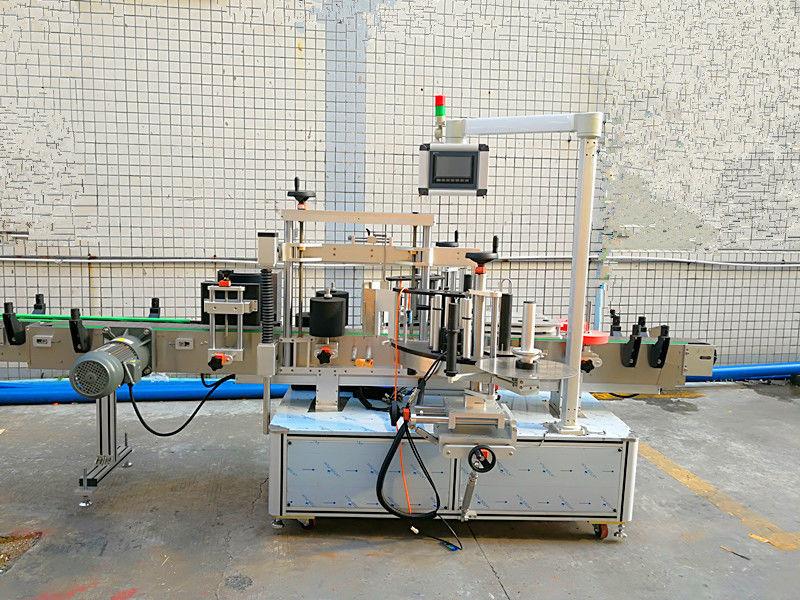 Jednostavna automatska mašina za etiketiranje sa prednje i zadnje strane sa dvostranom stranom