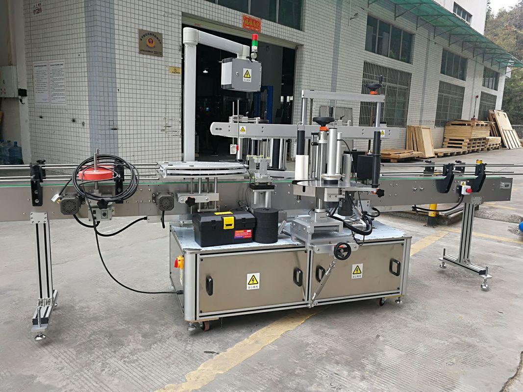 Potpuno automatizirana mašina za etiketiranje naljepnica sa kutnim kartonima 220V 50HZ 1200W